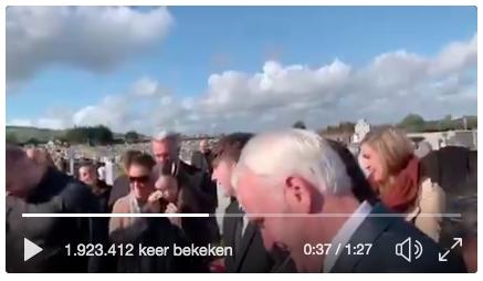 Video ier ingesproken boodschap uit doodskist tijdens begrafenis